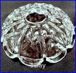 12 Vintage Schonbek Crystal Bobeche Chandelier 4 5/8 Light Lamp Cup Parts