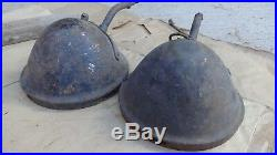 1915 1918 Model T Ford BROWN HEADLIGHT BUCKETS Original roadster touring