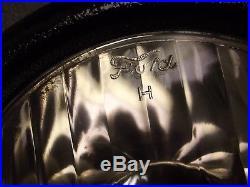 1916 1925 Vintage Ford Model T Head Light Lamp Fluted Lens Hot Rat Rod Complete
