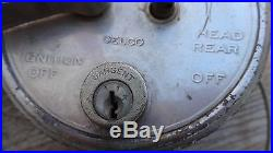 1920 1923 COLE IGNITION LIGHT SWITCH Original DELCO 1154 head lamp cowl vintage