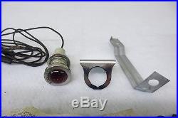 1950's GM CHEVY BELAIR IMPALA RED JEWEL E BRAKE Light Indicator Warning Signal