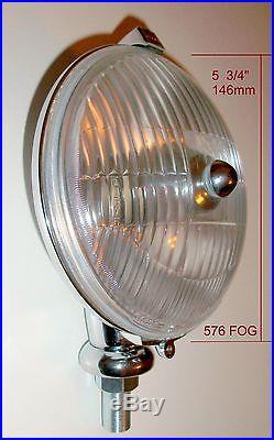 5 3/4 New Lucas Style FOG Lamp Light for Morris Mini, Cooper & S 1959-67