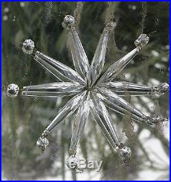 60 vintage French U-drop Crystal Glass Prism oil Lamp Chandelier Part brass pins