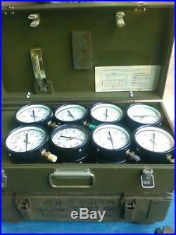 9 Salvage Vintage USSR Pressure Gauges Steampunk Art Craft Supplies Lamp Parts