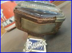 Antique Vintage 1920's 1927 1928 BUICK Car STOP Tail Light Lamp Porcelain