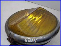 Antique/Vintage Guide Fog Lamp/Light 1920s 1930s 1940s Odd Peaked Lens RARE
