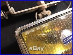 Carello Jod 435-444 Vintage-fog-lamp-light-yellow For Alfa Ferrari Lancia +cover