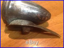 Early DELTA SILVERAY Bicycle light Fender LAMP vintaGe BiKe glass LENS solid