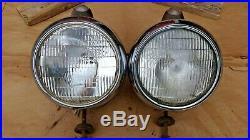 GUIDE 682-C HEADLIGHTS Original pair Custom rod ford chevy plymouth dodge gmc