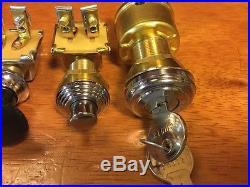 Headlight Head Lamp Beehive Start Button Ign Switch Fog Lamp Vintage Dash Scta