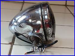 LQQK! Vintage SLOW Light GLASS LENS Car Truck Stop Lamp Guide B-31 Old Bullet #2