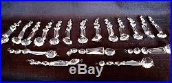 Lot Of 20 5 3/4 Long Antique/Vintage 5 Crystal Prisms Chandelier Lamp Parts