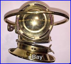 Lucas King of the Road No 654 vintage side Lamp Carriage Light 1910 era brass