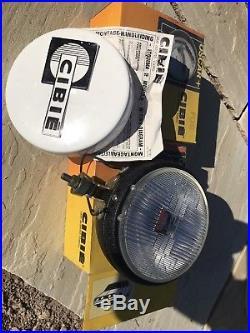 NEW 2 X CIBIE OSCAR PLUS 7 FOG/SPOT/DRIVING LAMPS LIGHT 1980s CLASSIC VINTAGE