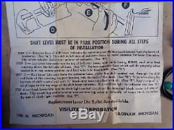 NOS 1950 1951 1952 Chevy Powerglide SHIFT INDICATOR LIGHT Accessory LEVER LITE