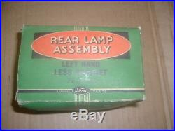 NOS Ford 1937 Rear Lamp Assembly 78-13402 LH Vintage Rare