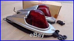 NOS K-D 517 STREAMLINE CAB MARKER LIGHTS LAMPS RED Vintage dodge chevy gmc coe A