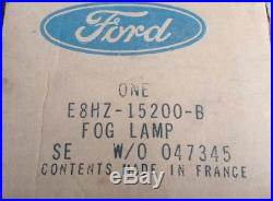 NOS Vintage Ford SEV Marchal 950 Fog/Driving Light Lamp With Cover