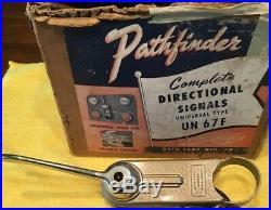 Nos Vintage Auto Lamp Chicago 9000 Pathfinder Turn Signal Switch Hot Rod Rat
