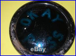 OKAY PASS Vintage Accessory Teleoptic Sparton Passing Light Lamp Signal 32 39 48