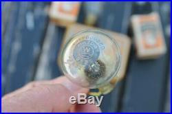 Original 1920 s- 1930s Vintage Edison lamp Bulb tin box ge Ford gm chevy