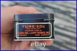 Original 1920 s- 1930s Vintage auto nos Spare bulb kit box Hot Rod Light Lamp