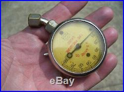 Original 1930s Accessory Tire air gauge tester GM Ford Chevy Dodge vintage auto