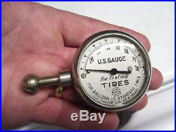 Original 1930s Accessory Tire gauge tester air GM Ford Chevy Dodge vintage auto