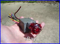 Original 1960's GM Chevy flarestat 105 hazard emergency flasher switch vintage