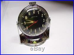 Original vintage Automobile dash Westclox clock magnet base gm auto part bomba