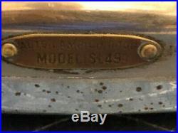 PAIR vintage AUTO LAMP model SL49 turn Signal BACKUP Tail auto TRUCK light OLD