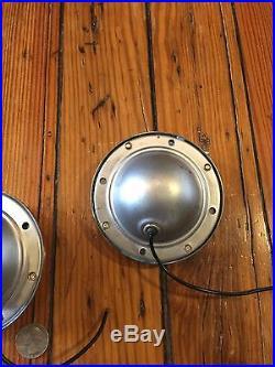 RARE-(2) NOS Vintage CLEAR GLASS LENS KD520 LAMP Truck TRAVEL TRAILER Lights