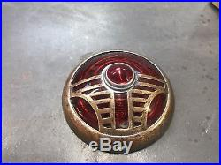 RARE Vintage 1936 1937 Chrysler DeSoto RILITE Tail Lights Lamps SCTA