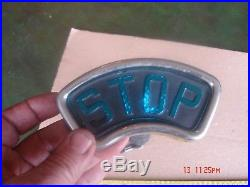 RARE Vintage Yankee Blue Letter Stop Lamp Tail Light Car Motorcycle Vehicle