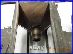 Rare Vintage 1910 1912 1913 Pierce Arrow Pillar Lamp Coach Light Original Pair