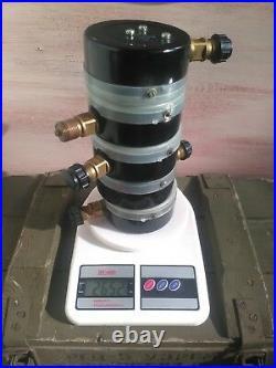 SET OF 5 Vintage Pressure Gauge. Steampunk. Lamp Parts. Industrial Home Decor