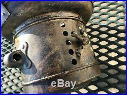 VINTAGE 9 inch HEADLIGHT ALLITE 1900's ANTIQUE BRASS Carbide Lamp PARTS