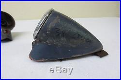VINTAGE STUDEBAKER RILITE Teardrop Tail Lights 1937 1938 Tail Brake Lamps SCTA