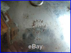 VINTAGE SUPER RAY GUIDE 7 7/8 Driving Lamp Fog Light GM Chevy Guide withbracket