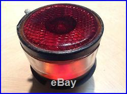 VINTAGE TAIL lamp TAG Light TRUCK Trailer Red glass LENS old NOS