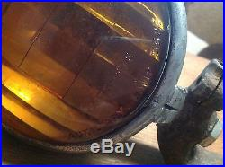 VINTAGE early CATS EYE auxiliary LAMP 5626 LIGHT old Truck HOT ROD car RARE Fog