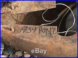 VinTaGE PaiR 1939 PONTIAC HEADLIGHTS Lights Lamps OLD Car Auto Parts HOT Rat ROD