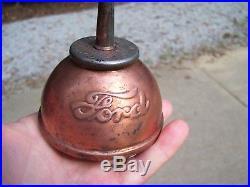 Vintage 1908 noera Ford original Oil can under hood auto tool kit promo parts