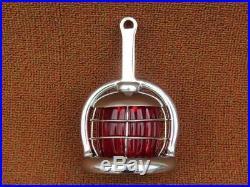 Vintage 1920's-30's Dua Saf Wig Wag Stop Brake Tail Light Lamp Nice Original