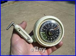 Vintage 1950s original auto accessory Service Altimeter station gauge old gm