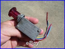 Vintage 1960's Auto Flasher switch hazard 105 car service auto gm street rat rod