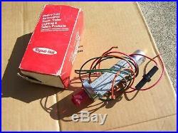 Vintage 1960's nos Flasher hazard switch auto dash service gm car street rat rod