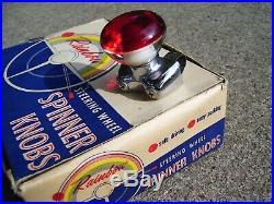 Vintage 1960's nos Steering wheel spinner knob auto service gm street rat rod