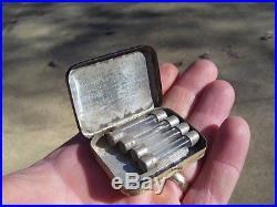 Vintage 60s original GM CHEVROLET genuine parts promo fuse kit tin box tool 50s