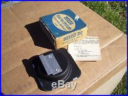 Vintage 60s original nos AC delco charging tester chevy GM Guide auto gauge kit